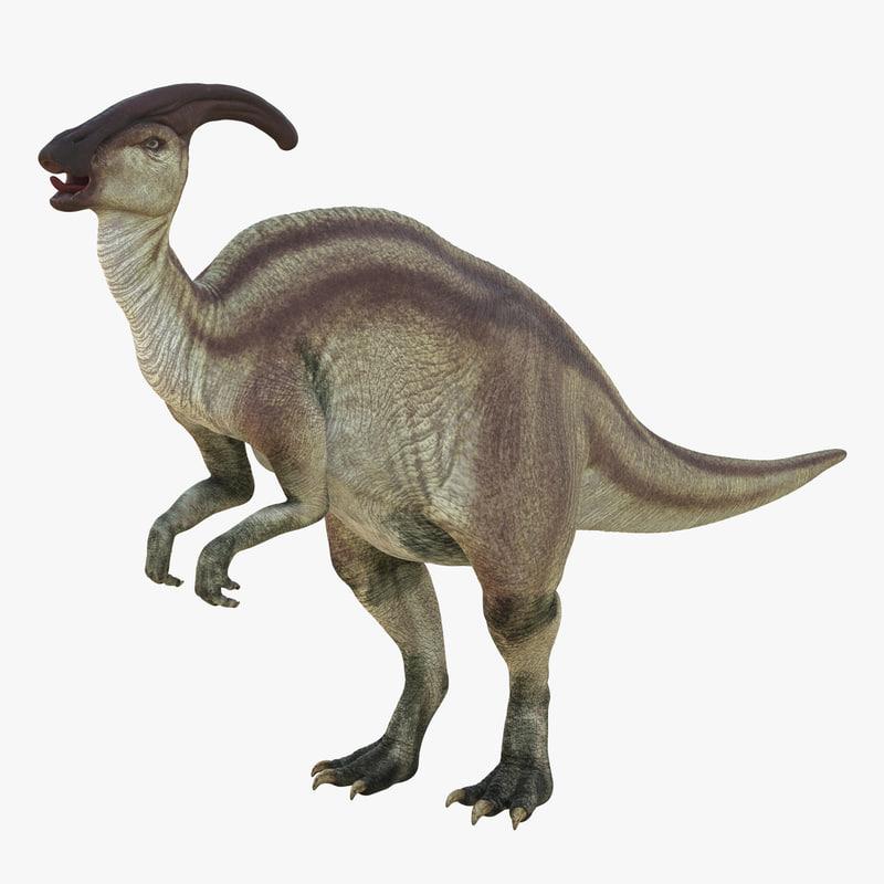Parasaurolophus Rigged 3d model 00.jpg
