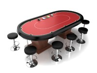 Poker Table Set