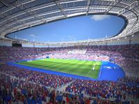 3d model france stade