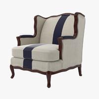 armchair design 3d max