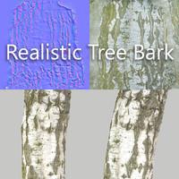 tree bark obj