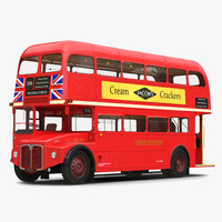 london bus routemaster rigged max