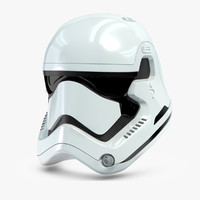 star wars characters 3D models