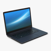 3d generic laptop 10