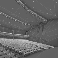 concert hall chairs 3d 3ds
