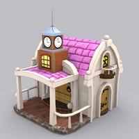 stylized house max