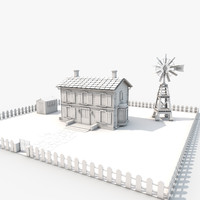 3d designs country house