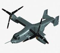 v22 osprey 3d max