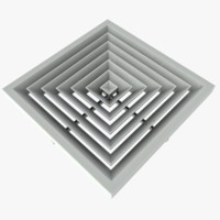 3ds max ceiling vent
