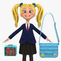 school student 1a blazer 3d max