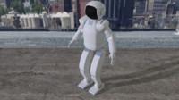 asimo robot 3d model