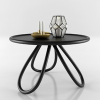 candle coffee table 3d max