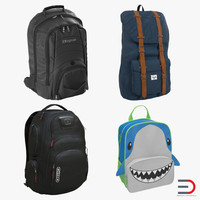 3d backpacks 2