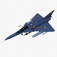 obj iai kfir fighter aircraft