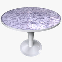 3d model table elements