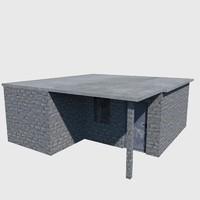 house brick 3d model