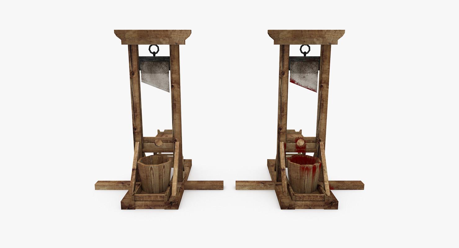 max medieval guillotine. Black Bedroom Furniture Sets. Home Design Ideas