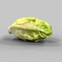 salad food 3d model