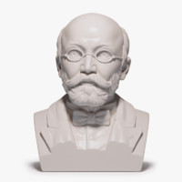 3d model bust zamenhof