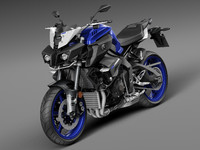 3ds max 2016 yamaha mt-10