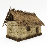 3ds max clay house