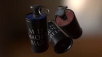 3ds max smoke grenade m18