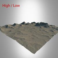 desert landscape max
