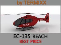 3d heli ec-135 reach