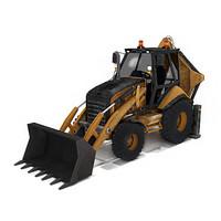 3d loader cat