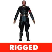 3d nazi model