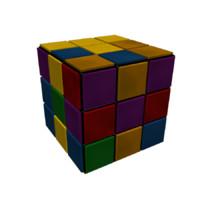 puzzle cube 3d max