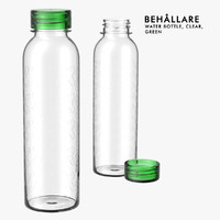 ikea water bottle behallare 3d obj
