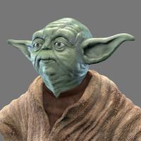 c4d yoda jedi master