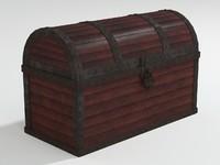 chest lock 3d max