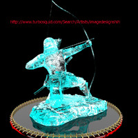 3d chinese ice sculpture