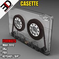 3d model casette