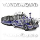 tourist trolley 3D models