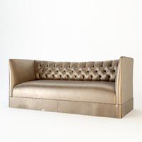 3d model andrew martin butler sofa seat