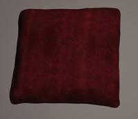 cushion scanned 3d c4d