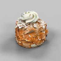 chocolate flake cake 3d 3ds