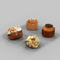 pralines belgian chocolates obj