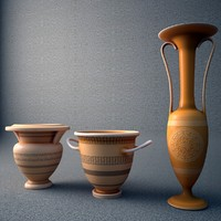 archaic vase 3d model