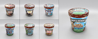 3ds max ben jerry s ice cream