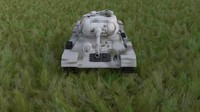 soviet t-34 85 tank obj