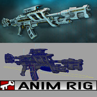 rifle scifi rigged ma
