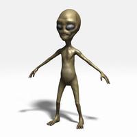 alien obj
