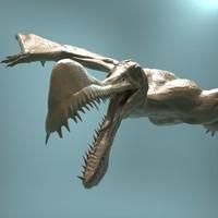 3d model realistic zbrush ornithoheirus dinosaur