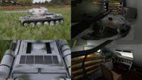 3d model soviet tank interior hdri