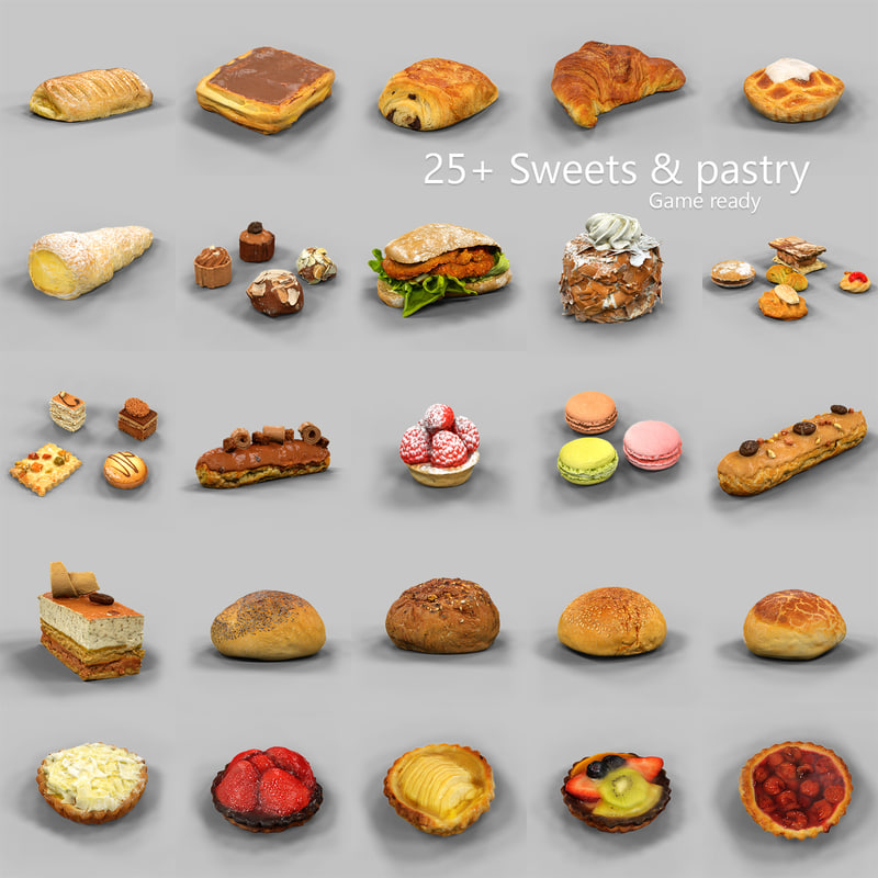25+Sweets and Pastry Collection.jpg