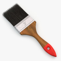 paint brush 3d 3ds